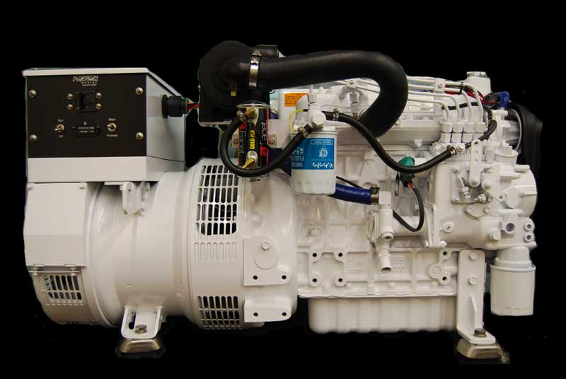 Phasor Marine Generators K4 12 5kw