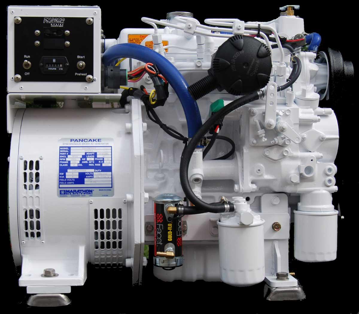 Phasor Marine Generators K3 6 5kw